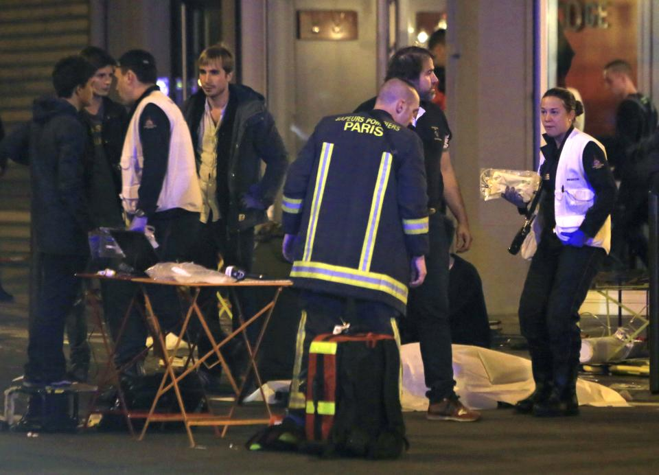 Police: At least 35 dead in Paris attacks; hostages taken
