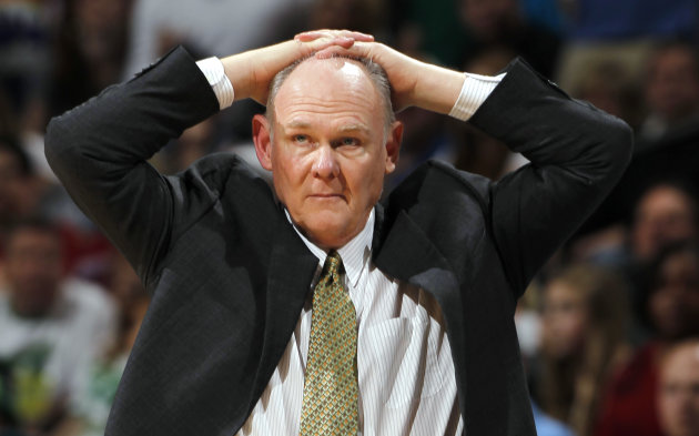 George Karl had a lot of success with the Denver Nuggets, but was fired and replaced by Brian Shaw.