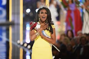 Miss America 2014 winner, Nina Davuluri, pictured during …