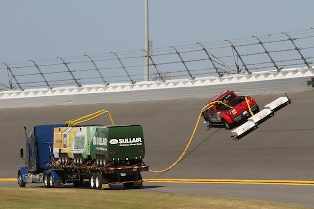 Introducing the Air Titan, NASCAR's new track dryer | From the Marbles - Yahoo Sports