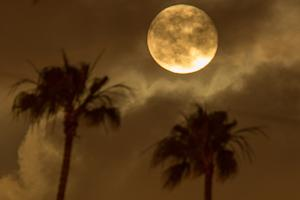 Dazzling supermoon of the weekend