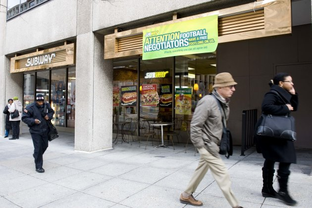 Three Sandwich Rivals Trying to Shave a Few Inches Off Subway's Footlong Empire article pic