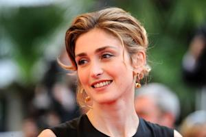 French actress Julie Gayet arriving for the screening…