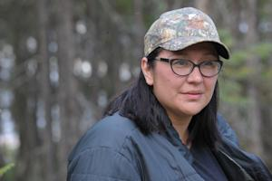 Mandy Gull, deputy chief of the Cree First Nation of …