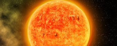 Ilustrasi badai matahari (Foto: Thinkstock)