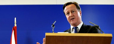 El primer ministro británico, David Cameron / Foto: La Nación