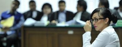 Angelina Sondakh jadi saksi di pengadilan Tipikor (Foto: Antara/Puspa Perwitasari)