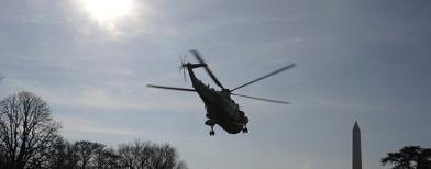 Marine One, helikopter Obama (Reuters/Jonathan Ernst)