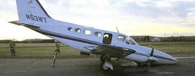 Wujud pesawat saat mendarat (Yahoo! News)