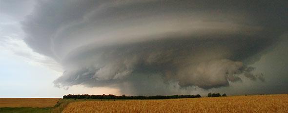 Storm clouds (Corbis)