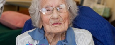 Besse Cooper, warga Amerika berusia 116 tahun. (ABC News)
