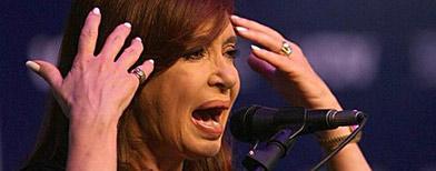 Cristina Fernández de  Kirchner. / Foto: La Nación
