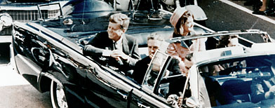 Kennedy / Foto de Penn Jones Photographs. Baylor University Collections of Political