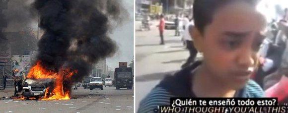 El niño que dejó boquiabierta a una periodista/ Captura de video - Reuters