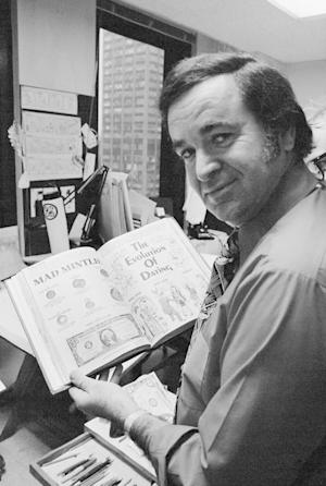 "FILE - In this 1972 file photo, ""Mad"" magazine editor …"