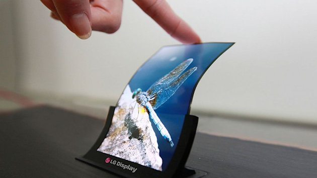 A Bendable Smartphone? LG's Flexible Screens Are Rolling Off Factory Lines (ABC News)