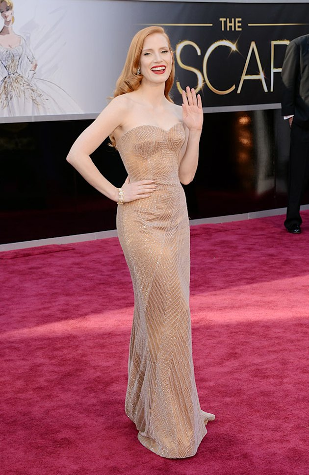 85th Annual Academy Awards - Arrivals: Jessica Chastain