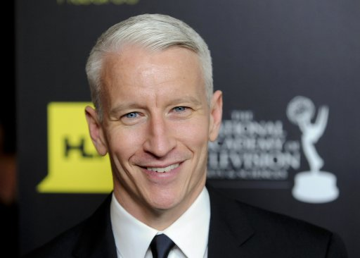 Anderson Cooper arrives at the 39th Daytime Emmy Awards in Beverly Hills
