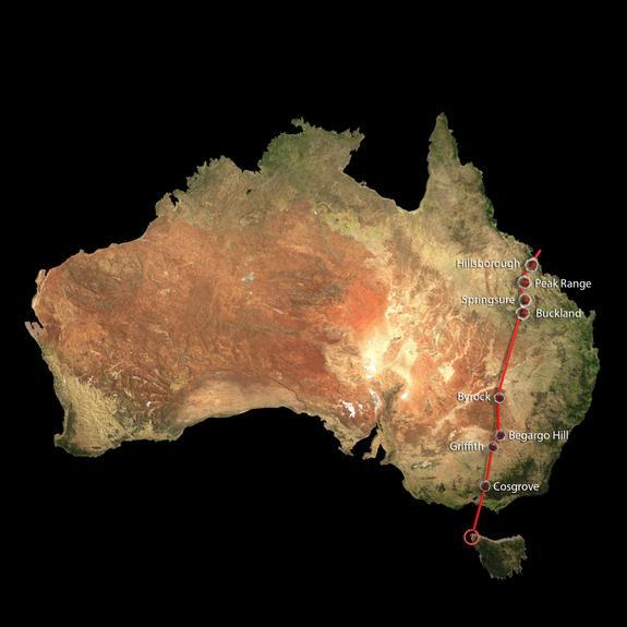Hidden Superchain of Volcanoes Discovered in Australia