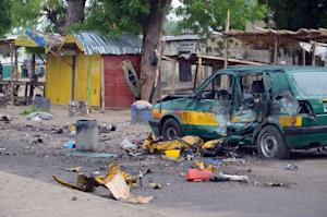 The scene of an Improvised Explosive Device (IED) blast…