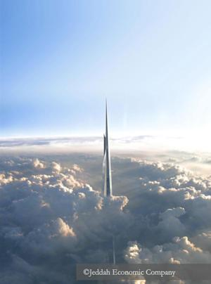 Jeddah Tower or Kingdom Tower