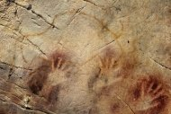 Handprints from ancient cave painters suggest that most people were right-hand dominant even thousands of years ago
