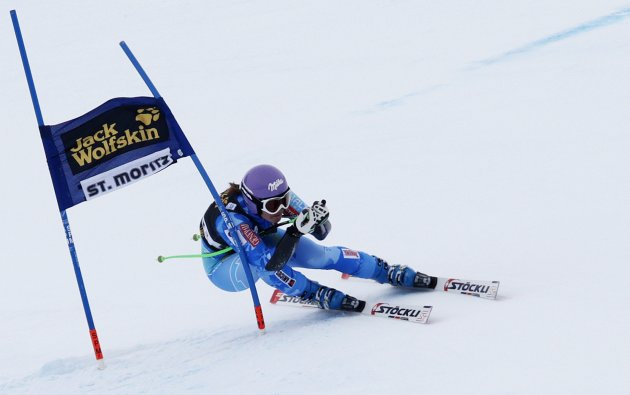 Tina Maze in mansa de super-G a super-combinatei din St. Moritz (Reuters)