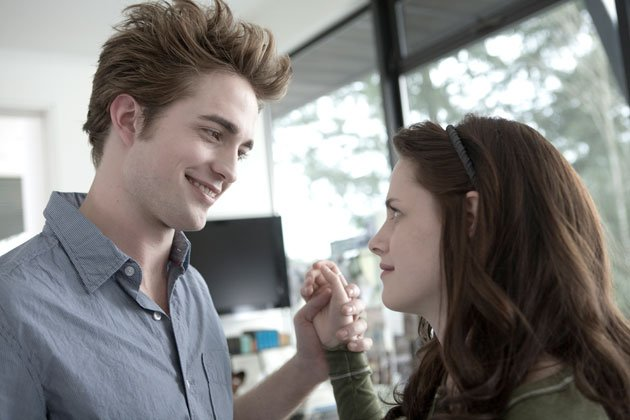 Twilight Sexiest Moments: We get goosebumps as vampire Edward touches Bella's hand and their relationship deepens.