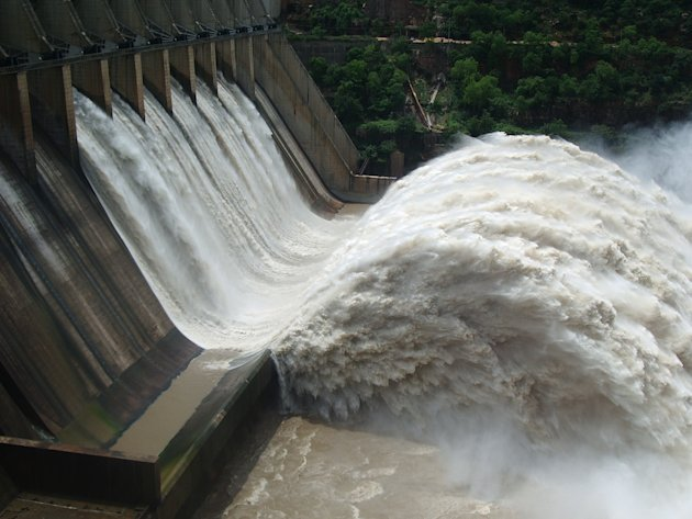 The biggest dams in India