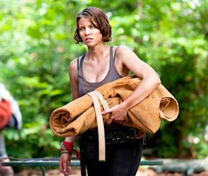 """The Walking Dead's Lauren Cohan on Beth's """"Creepy"""" Kidnapping, Possible Terminus Cannibals and More"""