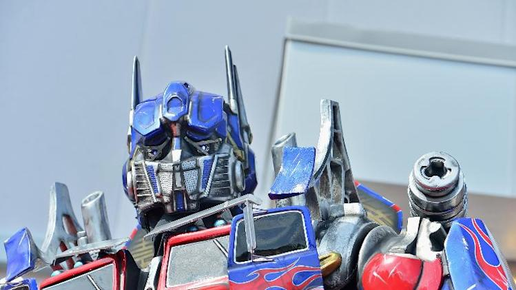 'Optimus Prime' attends the grand opening of 'Transformers The Ride - 3D' at Universal Orlando on June 20, 2013 in Florida