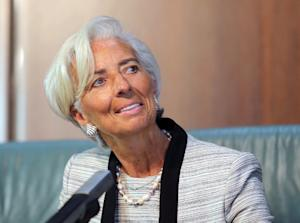 IMF chief Christine Lagarde told reporters in Abuja …