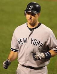 The pressure is on Mark Teixeira to produce this weekend against the Red Sox.