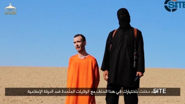 GRAPHIC CONTENT Islamic State video purports to show beheading of British hostage David Haines