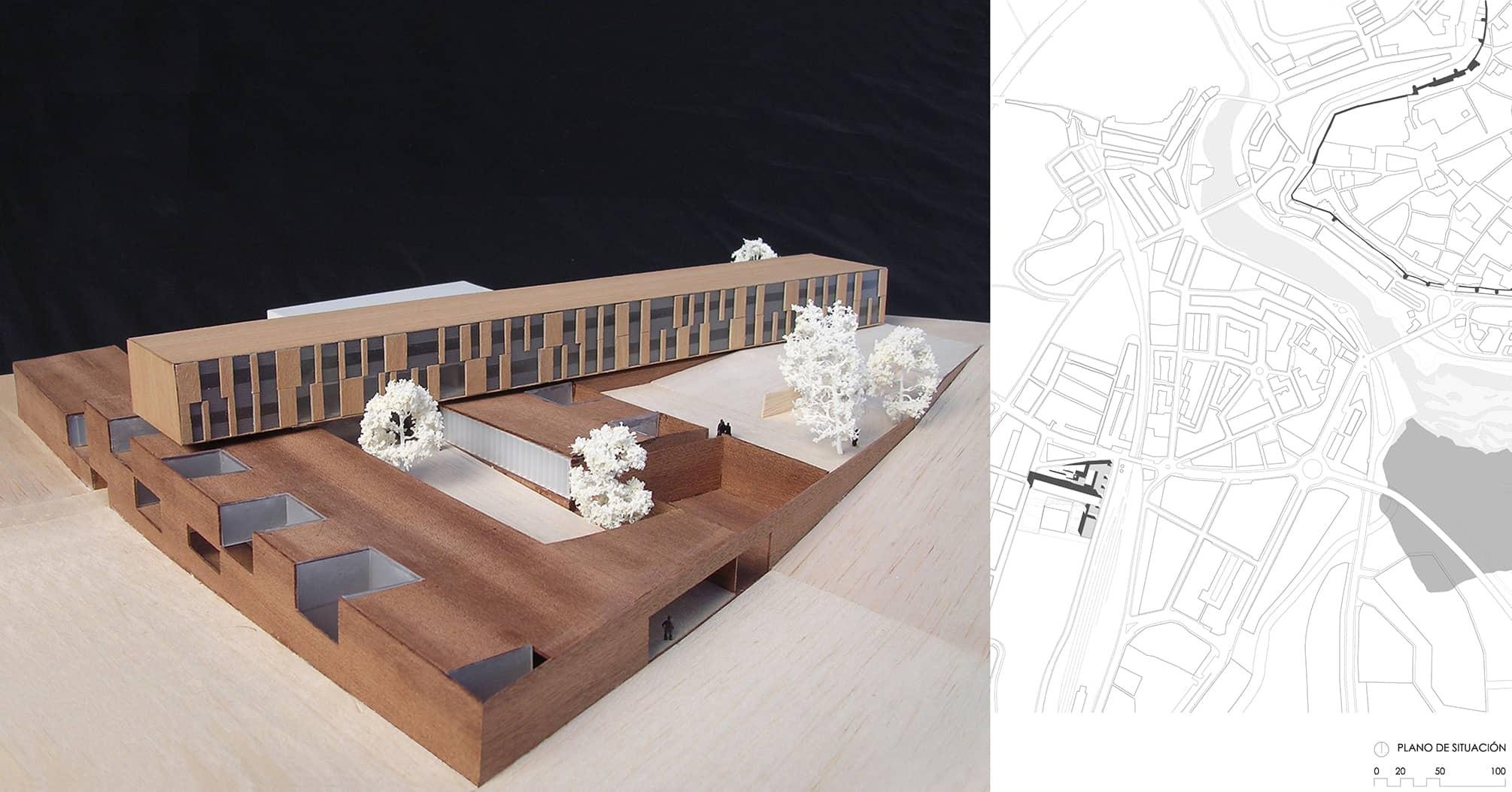 IES PLASENCIA - arquitectura escolar - LANDINEZ+REY   equipo L2G arquitectos, slp [ eL2Gaa ]