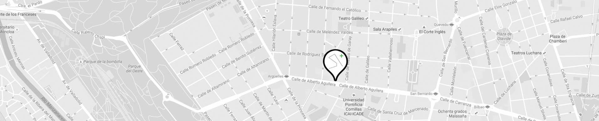 LANDÍNEZ+REY arquitectos | eL2Gaa - localización estudio de arquitectura en Madrid