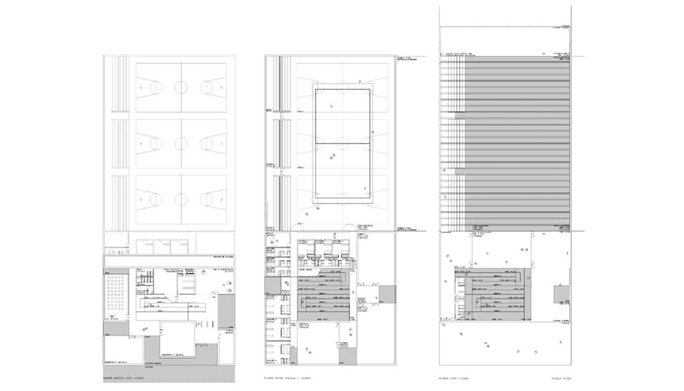 Polideportivo UAM - arquitectura deportiva - LANDINEZ+REY | equipo L2G arquitectos [ eL2Gaa ]
