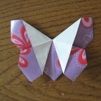 Tutorial: Origami Butterfly