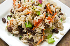 Rice and Beans Salad