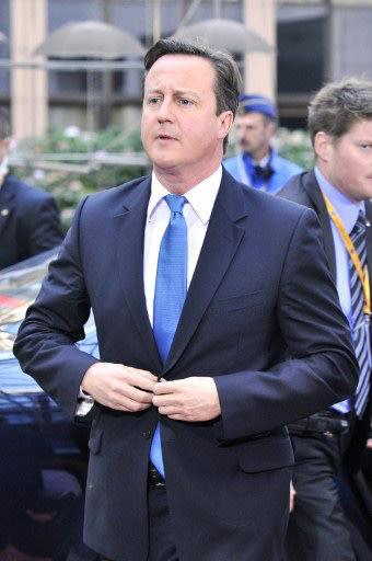 Thủ tướng Anh David Cameron…