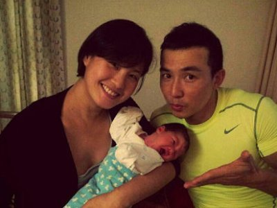 Will Liu welcomes new baby girl