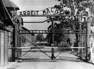 FILE - This undated file photo shows the main gate…