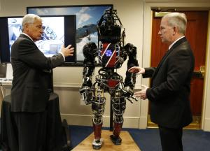 DARPA's ATLAS robot at the Pentagon in Washington