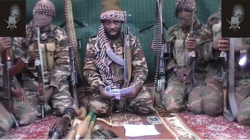 A screengrab taken on September 25, 2013 from a video distributed through an intermediary shows a man claiming to be the leader of Boko Haram, Abubakar Shekau