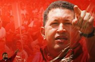 Venezuelan President Hugo Chavez speaks during a campaign about his proposal of constitutional changes in Caracas November 21, 2007. REUTERS/Carlos Garcia Rawlins