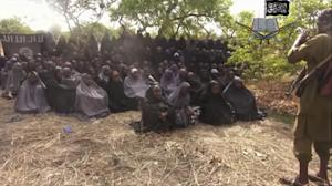 Girls abducted by Islamic extremists in Nigeria