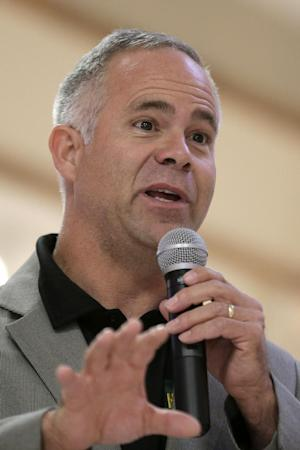 In this photo taken Sept. 22, 2014, Rep. Tim Huelskamp, …