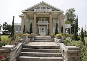 The Brady Mansion is pictured in Tulsa, Okla., Thursday, …