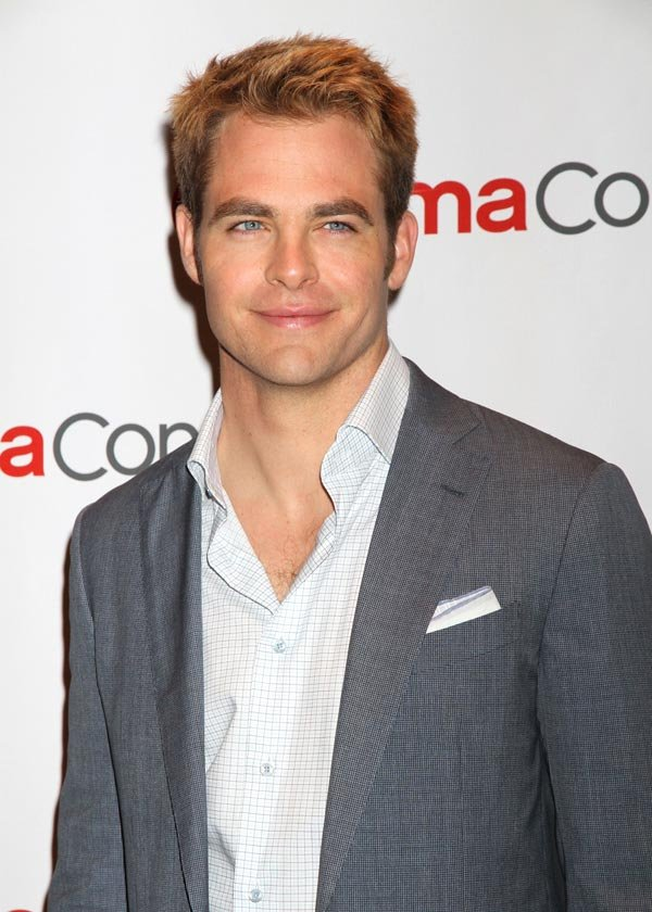 Chris Pine Reveals He D Consider Playing Grey In