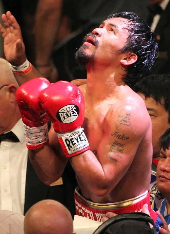 Manny Pacquiao Reacts  Getty …